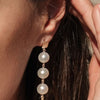 9CT NIELSEN PEARL DROP STUD EARRINGS