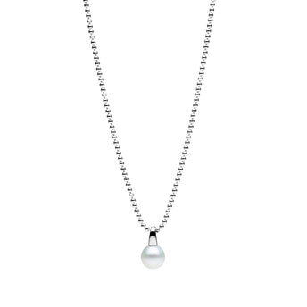STERLING SILVER SOUTH SEA PEARL BEACHBALL PENDANT