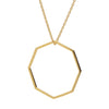 9CT GOLD OLA PENDANT