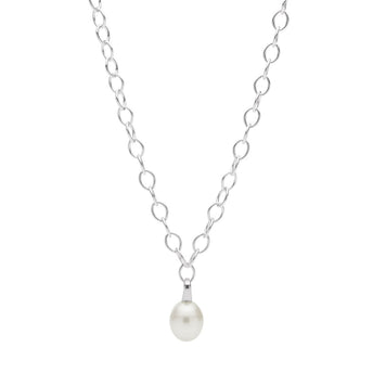 STG SILVER SOUTH SEA PEARL PENDANT