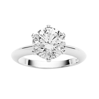 18CT DIAMOND CORONET RING