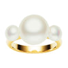 9CT TRIPLE PEARL RING