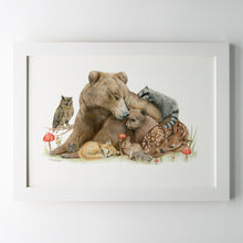 Limited edition 'Forest Friends' Print