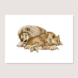 The Lion Sleeps Tonight Print