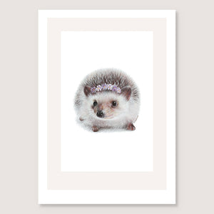 SALE print Hedgehog