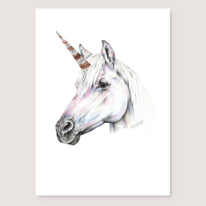 SALE print Rainbow Unicorn