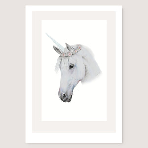 SALE print Unicorn