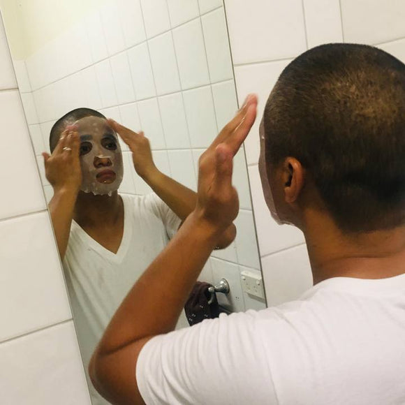 Husband Tests Out Korean Face Sheet Masks – Tagged