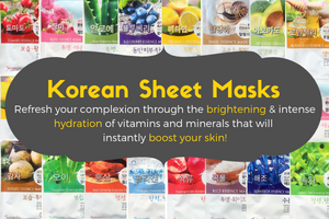 korean sheet masks refresh your complexion through the brightening and intense hydration of vitamins and minerals that will instantly boost your skin wholesaler wholesale retail retailer buy face sheet mask australia