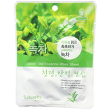 Natureby Green Tea Essence sheet mask is designed to brighten your complexion, reduce puffiness and protect against free radicals. Green tea contains an abundance of antioxidants that fight UV rays and combats the signs of aging when applied topically.