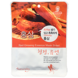 Natureby Red Ginseng Essence sheet masks are an excellent toner and brightener. Taking an active role in metabolizing cell rejuvenation by reproducing cells through oxygenation. Red Ginseng is a key ingredient to anti-aging therapy.