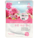 Natureby Rose Essence sheet mask is designed to lock in moisture by deeply conditioning the skin using natural plant extracts. Rose has anti-inflammatory properties that can help reduce redness from acne, as well as aiding the removal of oil in clogged pores.