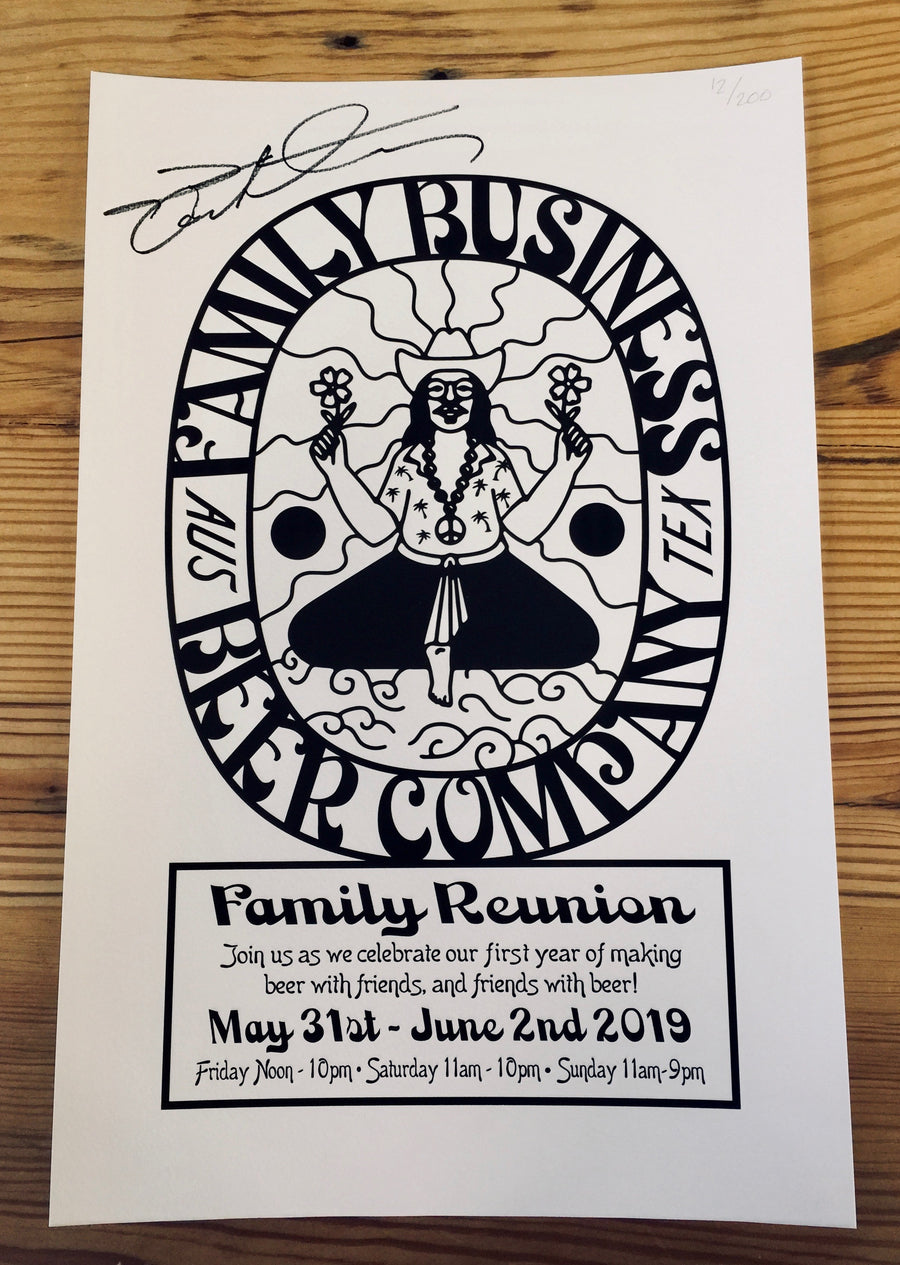 *LIMITED SIGNED* Family Reunion Poster