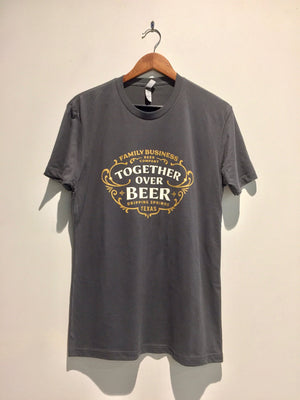 Together Over Beer Grey T-Shirt