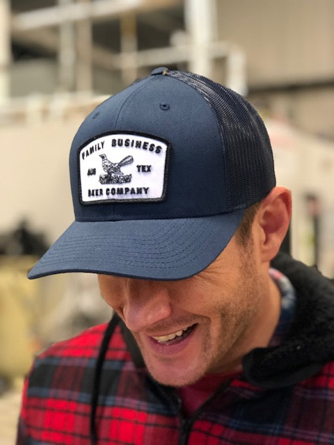 Grackle Patch Navy Snapback Hat