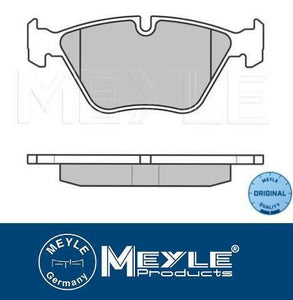 Rear Brake Pads BMW E60 E61 540i,545i,550i Meyle BMW oe no.34216768471