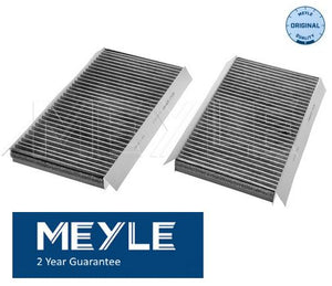 BMW E65 E66 7 Series Pollen Filter/Microfilter Kit Carbon Meyle 64116921019