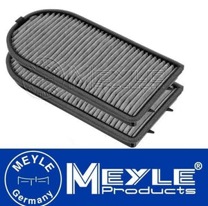 BMW E38 7 Series Pollen Filter Set (Carbon) MEYLE 64319070072, 64319272810