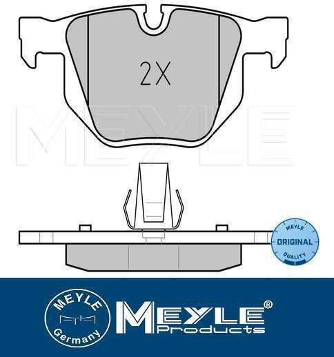 Rear Brake Pad Set BMW E60 E61 E63 520,523,525,530, 630i MEYLE 34216763043