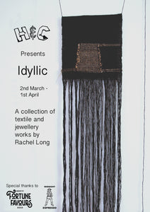 IDYLLIC a collection of textile and jewellery works by Rachel Long