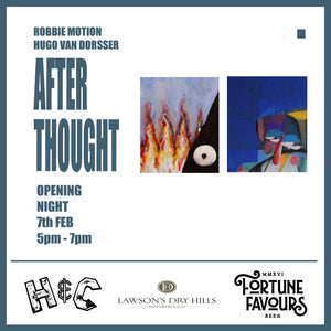 AFTER THOUGHT: Robbie Motion and Hugo Van Dorsser