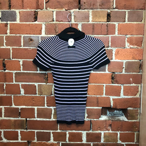 GAULTIER cotton knit polo