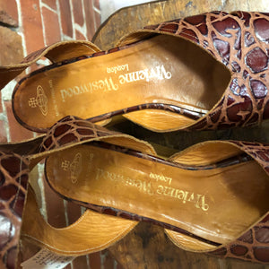 VIVIENNE WESTWOOD 1990S iconic Rocking horse shoes 41
