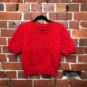 NEW hand knitted mohair jumper