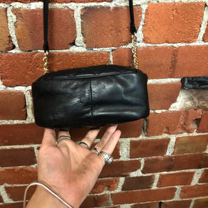 MOSCHINO 1990s leather mini bag