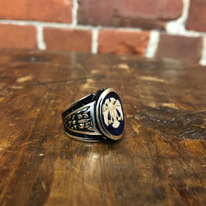 Russian Eagle stg ring