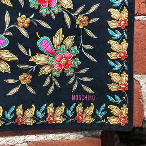 MOSCHINO cotton neckerchief