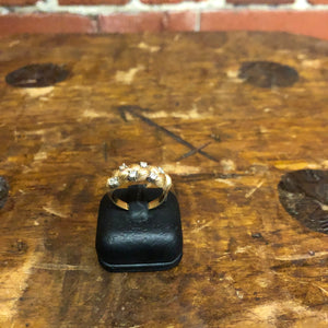 14K gold and Diamonds ring