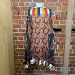 JEAN PAUL GAULTIER virgin wool poncho