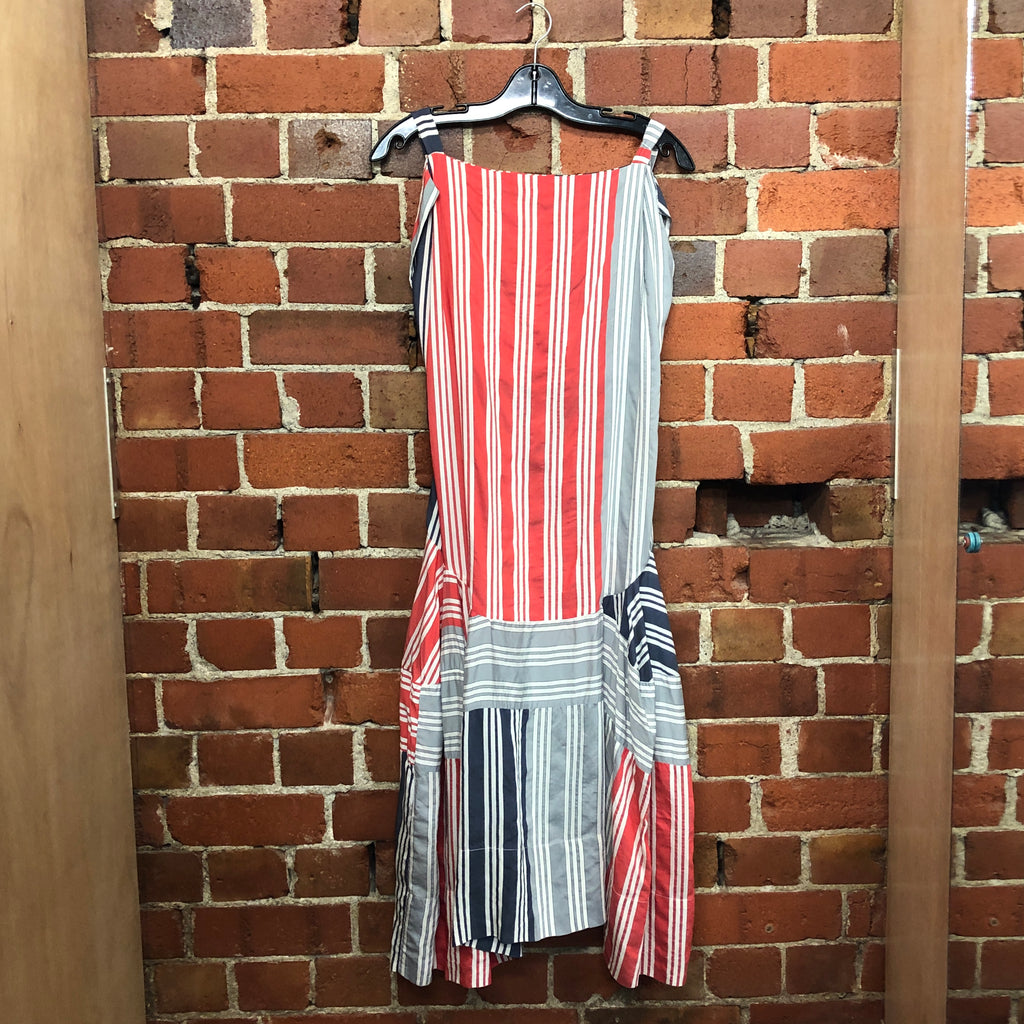 VIVIENNE WESTOOD nautical cotton dress