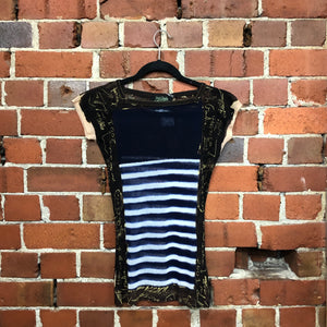 JEAN PAUL GAULTIER nautical mesh top