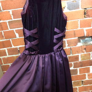 1990s grunge ball gown