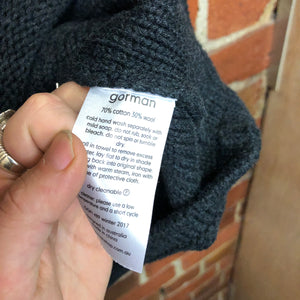 GORMAN cotton and wool top