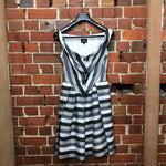 VIVIENNE WESTWOOD Striped corset dress