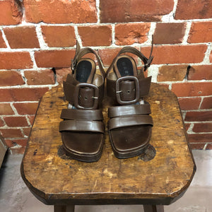 MARNI leather sandals 38