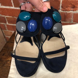 MARNI suede sandals 38