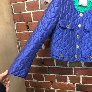 MOSCHINO 1980s quilted jacket
