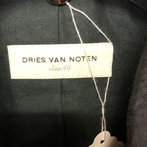DRIES VAN NOTEN rayon outer jacket