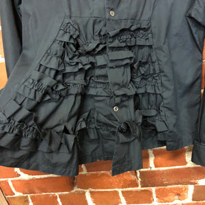COMME DES GARCONS frilly dress shirt