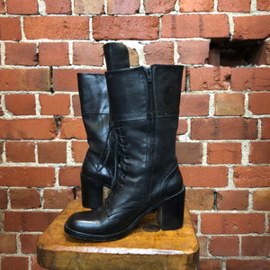 GUESS 1990s leather boots 41