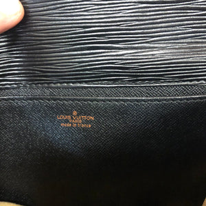 LOUIS VUTTION EPI leather clutch