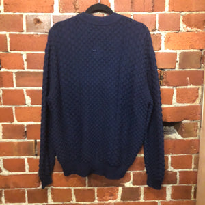 1947 NZ designer merino knit jumper