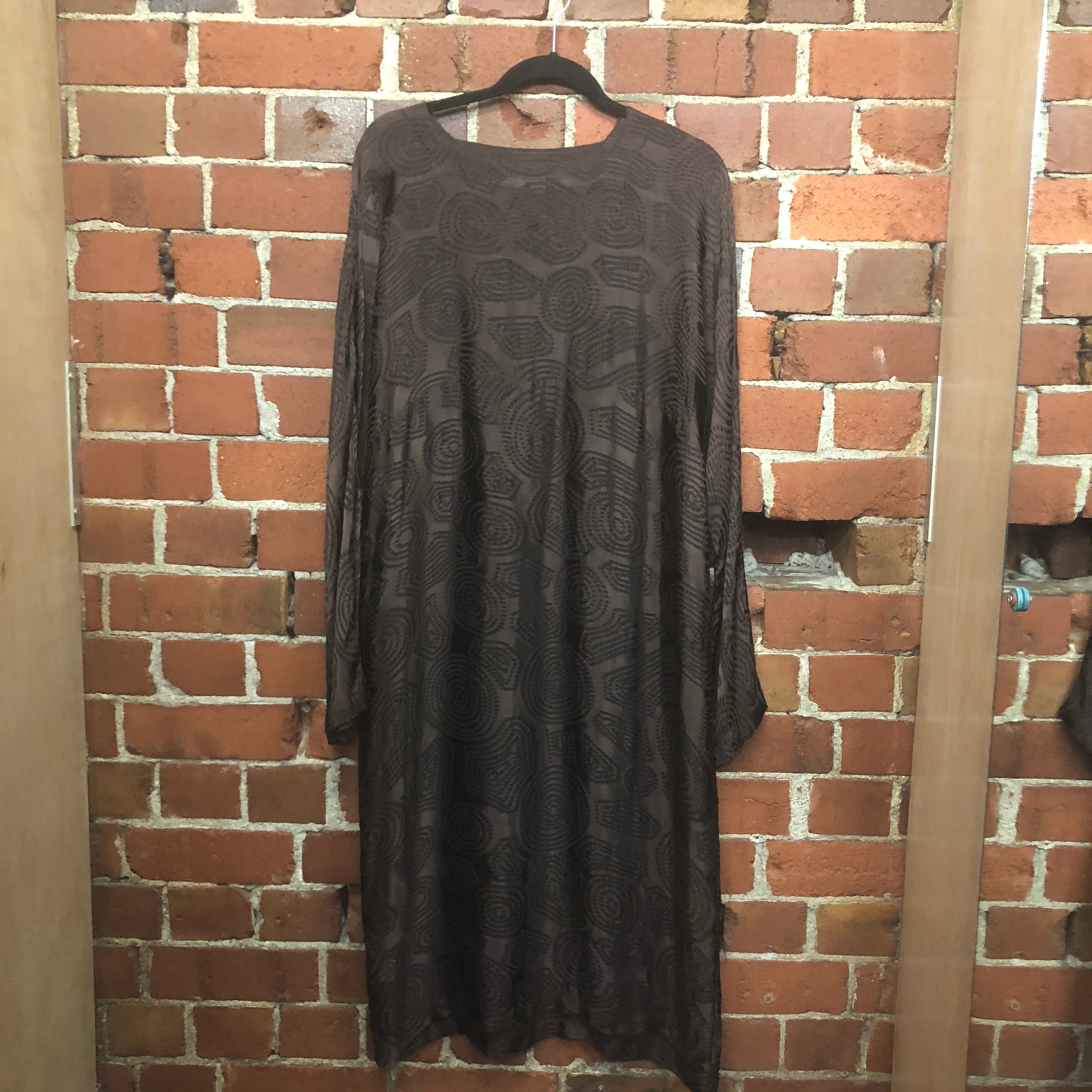 ZAMBESI silk dress