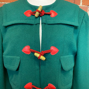 MOSCHINO 1980s wool jacket