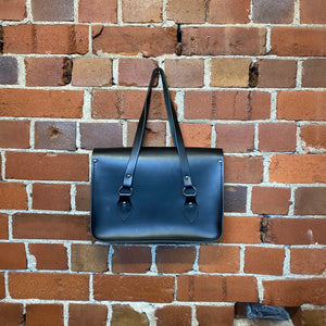 COMME DES GARCONS X CAMBRIDGE SATCHEL COMPANY leather bag