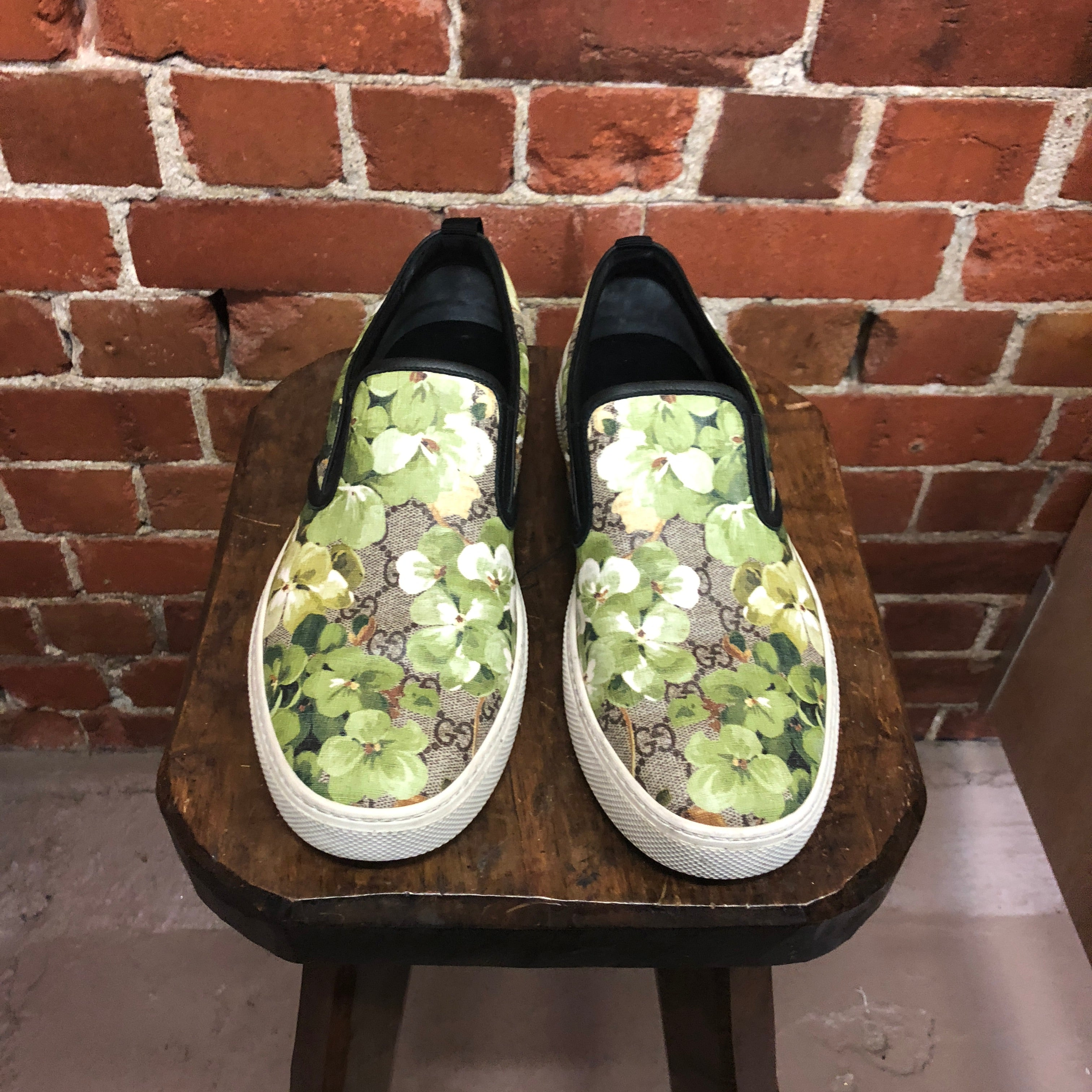 GUCCI monogrammed sneakers 9